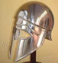 Greek CORINTHIAN HELMET, Collectible Knight Helmets, Medieval Xmas Gift ... - $50.26