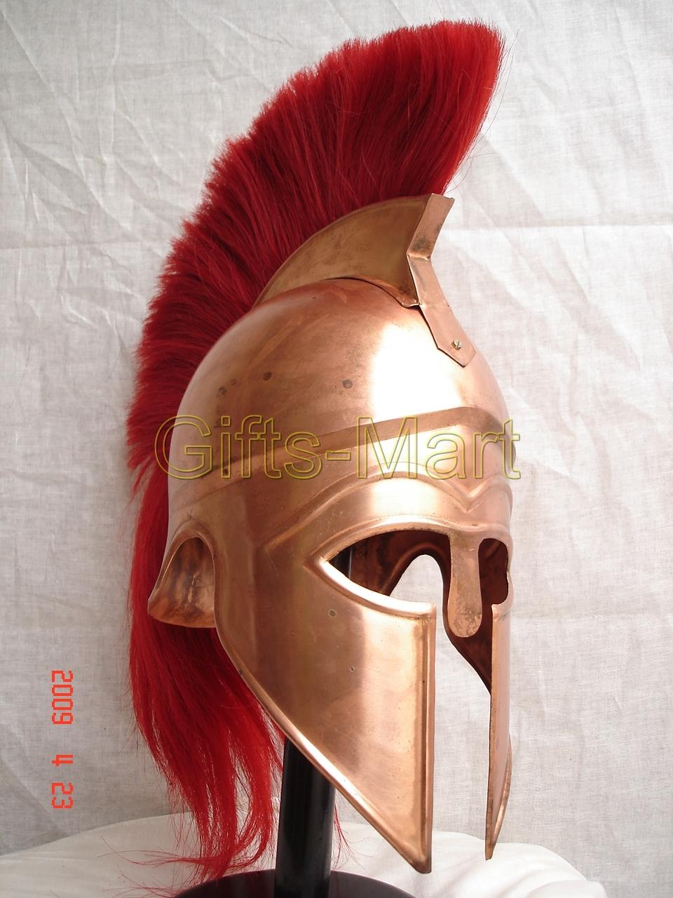 Greek CORINTHIAN HELMET, Collectible Roman Helmets CR, Medieval Militaria Armor
