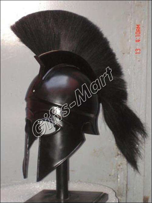 Greek Corinthian Helmet Medieval Military Armor Helmets, Military Armor Costume