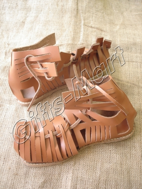 Greek Roman sandals, Collectables Leather Sandal, Roman Caliga, Marching Sandals