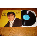 ELVIS LET'S BE FRIENDS ORIGINAL CAMDEN LABEL LP  FREE SHIPPING IN THE USA! - $28.71