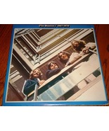 THE BEATLES 1967-1970 2-RECORD SET LMTD BLUE VINYL LPS - $173.25