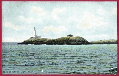 Primary image for ISLES OF SHOALS LIGHT NEW HAMPSHIRE Rye Germany