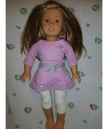 """American Girl 18"""" Doll Blonde Hair Blue  Eyes  Just Like You Truly Me Jly - $76.23"""