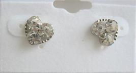 Clear Crystals Earrings Simulateed Clear Crystals Earrings - $4.30
