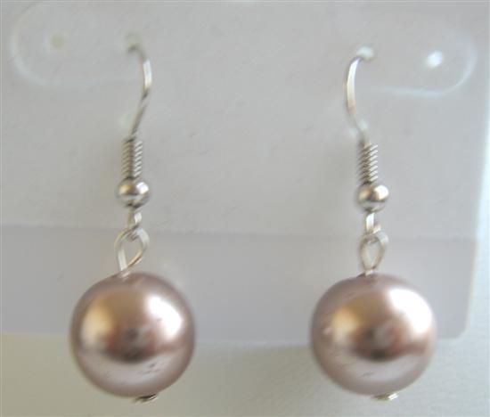 Dollar Bronze Bronze Earrings Earrings