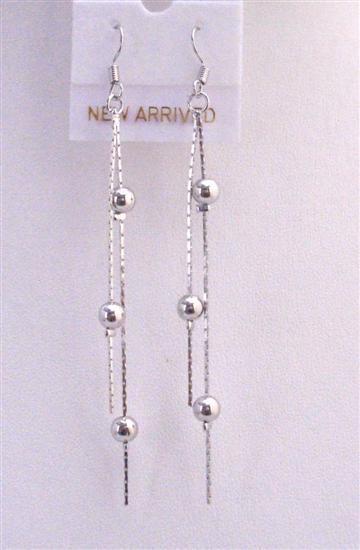 Dollar Earrings Chandelier Earrings w/ 2 1/2 Inches Long Earrings