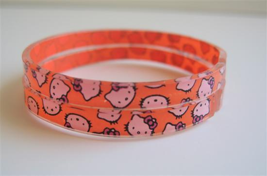 Hello Kitty Cuff Bangle Gilrs Bangle Hello Kitty