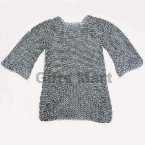 MEDIEVAL CHAINMAIL SHIRT Collectible CHAIN MAIL, Ancient Replica Armor  Larp Sca