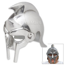 MEDIEVAL GLADIATOR HELMET, Roman Maximus Movie Arena Helmets Unique Xmas... - $43.56