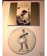 ELVIS PRESLEY PLATINUM A LIFE IN MUSIC SAMPLER RARE - $197.01