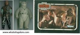 vintage Star Wars action figures Weequay & Chief Chirpa + brochure & Tee... - $15.00