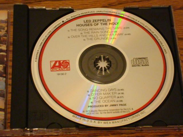 LED ZEPPELIN HOUSES OT THE HOLY CD