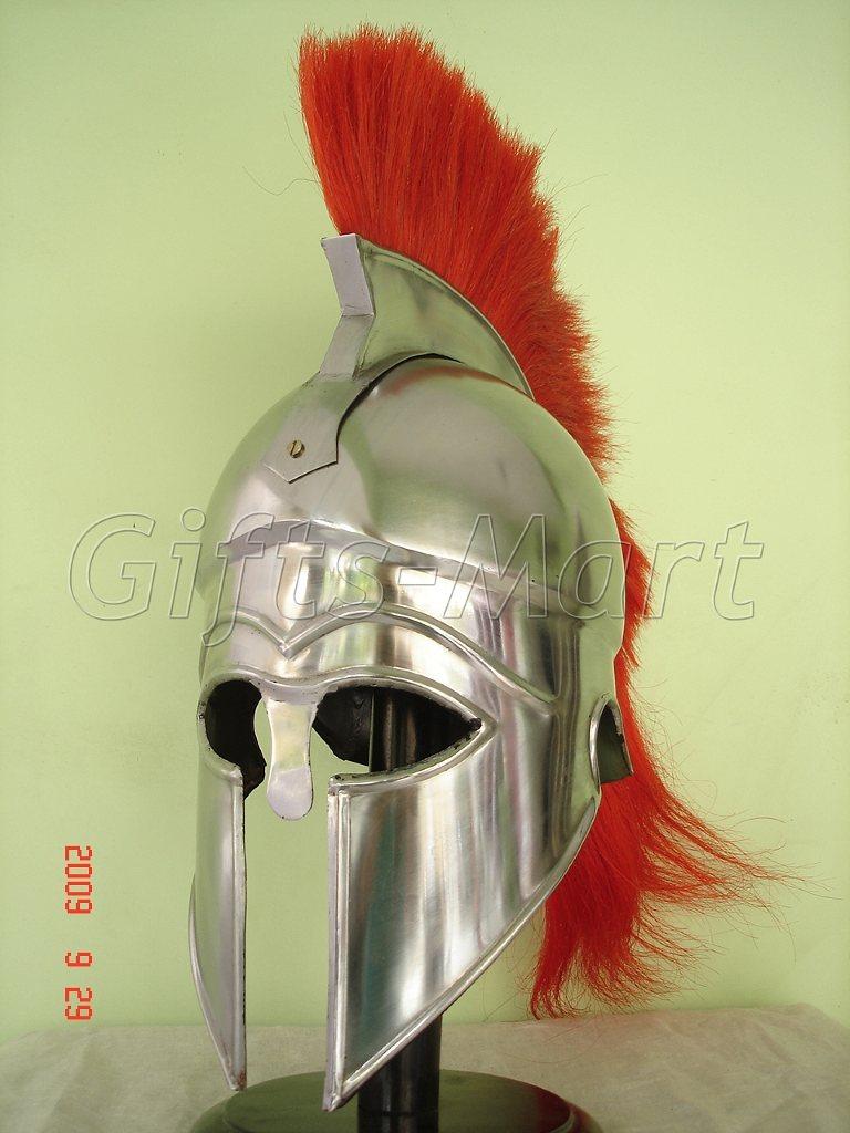 Medieval Greek Corinthian Helmet Roman Armor Helmets NR, Fancy Halloween Dress