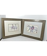Carol Grigg Prints The Guardians & Native American Horse Riders Framed Pair - $104.93