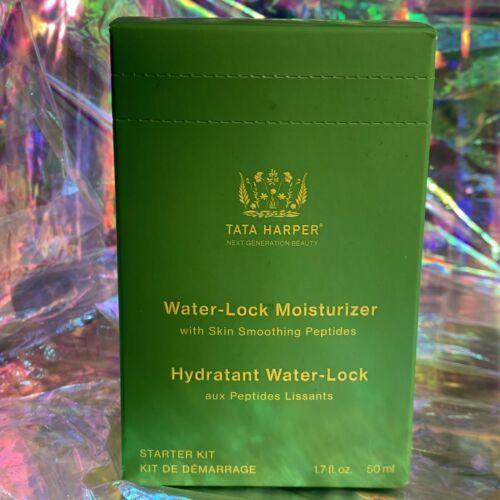 NEW IN SEALED BOX Tata Harper Water Lock Moisturizer 50mL(1.7 fl. oz W Peptides)