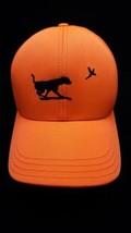 Hunting Men's Baseball Cap Orange Bird Dog Pheasant AmeriCap USA Strapback - $21.49