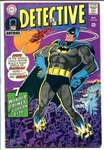 DETECTIVE COMICS #368 1967-BATMAN-ELONGATED MAN-ROBIN! VG/FN - $44.14
