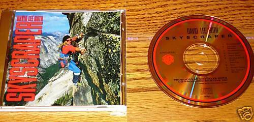 DAVID LEE ROTH SKYSCRAPER 24-KARAT GOLD JAPAN CD