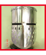 Medieval knight Templar Helmet Crusader Helmets With Free Leather Inner ... - $83.00