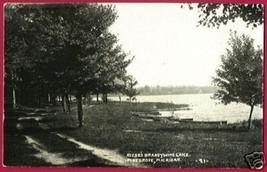 Pine Grove MI Postcard Riese Brandywine Lake RPPC BJs - $8.50