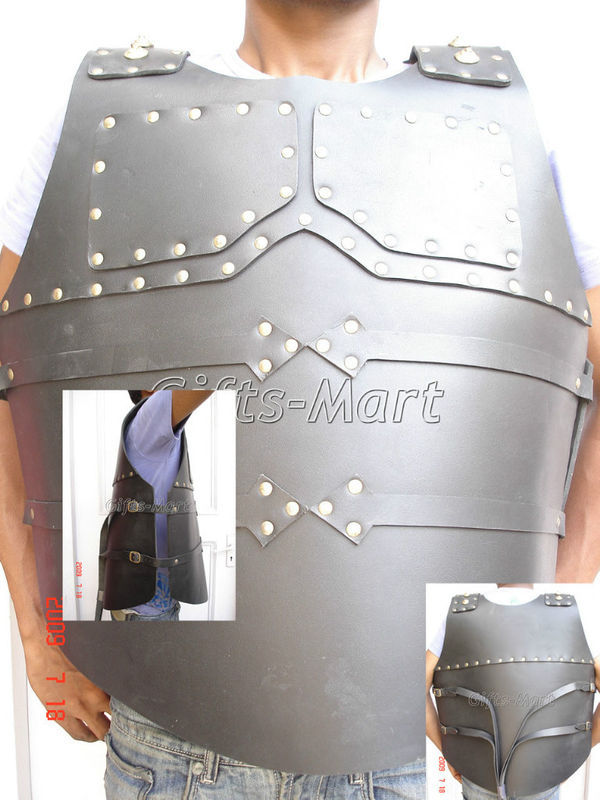 Muscle Armour, Leather breastplate, Body Armor Cuirass, Medieval ChestPlate Larp