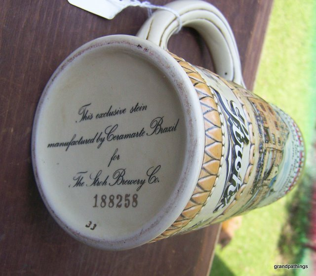 VINTAGE ''THE STROH'S BREWERY COMPANY BEER MUG'' 188258