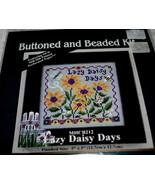 MILL HILL~Buttoned & Beaded Kit~Lazy Daisy Days - $9.00