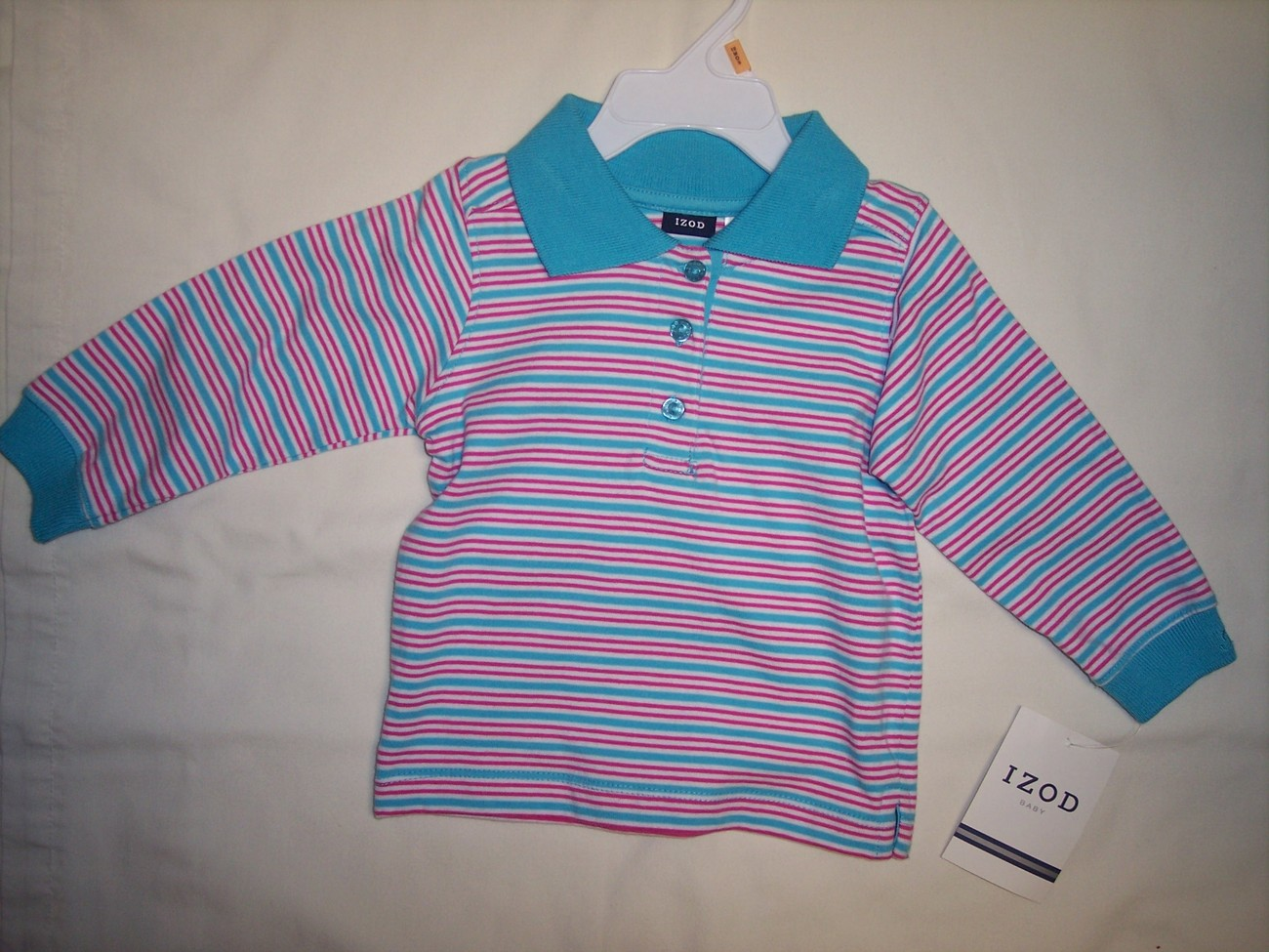 Primary image for  Girl's Izod Top 12  Months