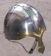 Norman knight Antique Helmet Medieval Helmets With Chin Strap, Military ... - $31.68