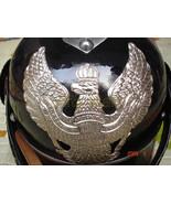 Prussian Cuirassier Spiked Pickelhaube Helmet Black WW1, WW2 Military He... - $93.18