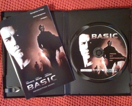 BASIC presskit - Travolta & Samuel L. Jackson - $8.00
