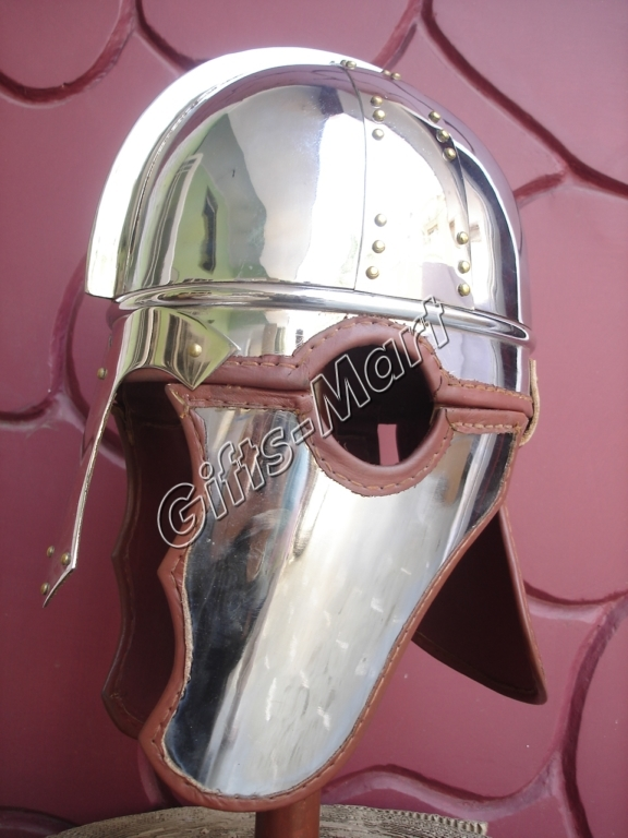 ROMAN CAVALRY ARMOR HELMET COLLECTIBLE REPLICA MEDIEVAL REENACTMENT COSTUME SCA