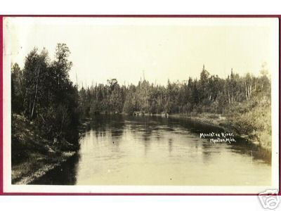 Primary image for Manton Mi Manistee River Michigan RPPC DOPS