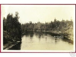 Manton Mi Manistee River Michigan RPPC DOPS - $8.00