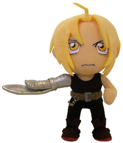 Fullmetal Alchemist Brotherhood: Edward Armblade Plush GE6122 Brand NEW!