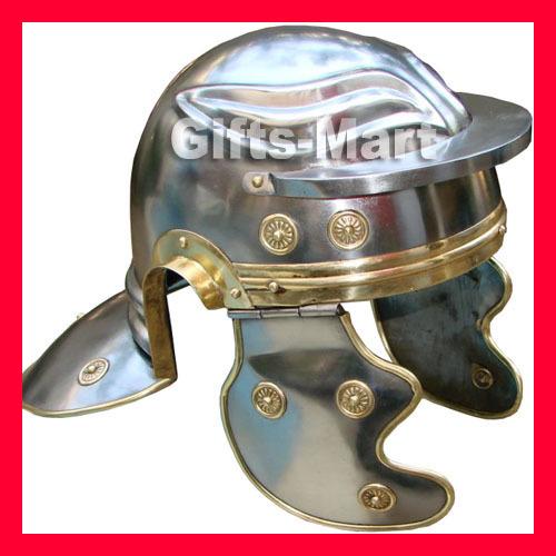 Roman Guard Helmet, Medieval Greek Spartan Helm, Reenactment Costume Armor Larp*
