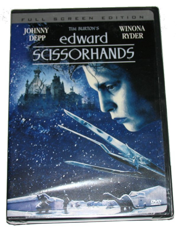 Dvd edward scissorhands