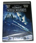 DVD Edward Scissorhands Johnny Depp Winona Ryder 1990 NEW - $7.99
