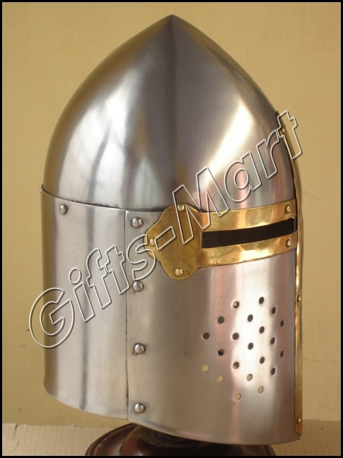 Sugar Loaf Helmet Medieval Sugarloaf knight Helmets, Collectible Hot Xmas Gift