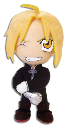 Fullmetal Alchemist Brotherhood: Edward Black Jacket Plush GE6934 NEW!