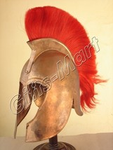 TROY MOVIE HELMET Medieval Military ARM​OUR, Collectible Trozan Armor Cos - $99.99