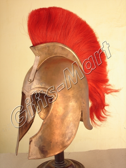TROY MOVIE HELMET Medieval Military ARM​OUR, Collectible Trozan Armor Cos