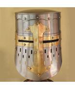 knight Helmet Medieval re-enactment Helmets with Free Adjustable Leather... - $80.00