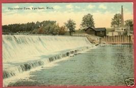 Ypsilanti MI Postcard Peninsular Dam Vintage BJs - $8.50
