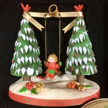 """Hallmark 1979 """"Outdoor Fun"""" Swinging Tree Trimmer Collection Christmas Ornament - $11.26"""