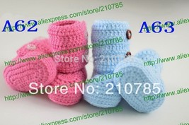 Free shipping,Crochet Boots Newborn infant Snow Boots Knitting shoe sock... - $21.40