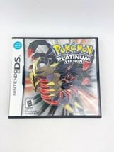 Pokemon Platinum Version (Nintendo DS, 2009) COMPLETE CIB Authentic Tested - $174.99