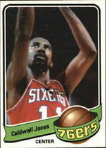 #33 Caldwell Jones 1979-80 Topps Basketball - $1.75