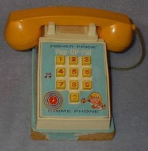 Fisher Price Pop Up Pal Phone Telephone no. 150 - $19.95